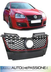 Mascherina-Calandra-GT-GTI-anteriore-Volkswagen-Golf-5-2005-gt-logo-griglia