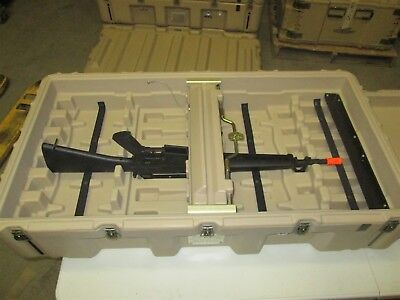 Hardigg Pelican Mobile Army Military Armoury USA 12 Rifle Gun Case Box
