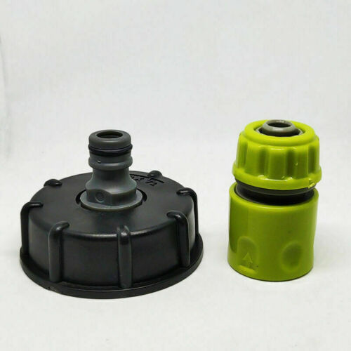 IBC ADAPTER CONNECTOR REDUCER HOSE LOCK WATER PIPE TAP STORAGE TANK FITTING BUTT