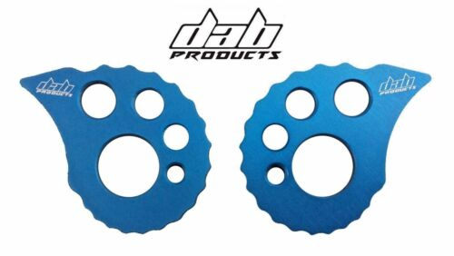 BETA SHERCO 4RT SHERCO TRIALS BIKE SNAIL CAMS 17MM REAR AXLE SPINDLE BLUE ADJUST