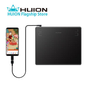 Details about HUION HS64 Graphics Tablets Battery Free  Windows/macOS/Android Supported 8192 US