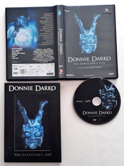 Donnie Darko The Director's Cut- DVD (2004) con Slipcase Slipcover Olografica