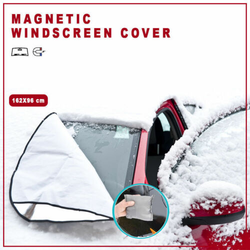 2 X Funda Premium Parabrisas Magnético calor y resistente a la nieve cubierta de alta calidad