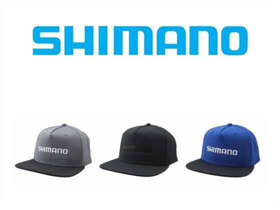 Shimano Welded Flatbill Hat Black OSFM