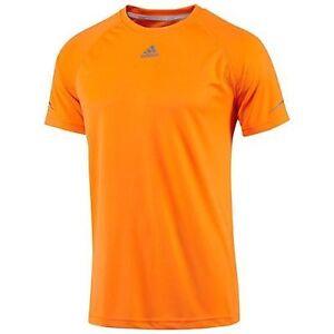 Adidas-para-hombre-de-rendimiento-absorbe-Climalite-Camiseta-Tee-Gimnasio-Running-Active-Sports