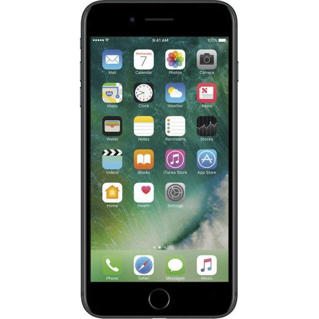 Apple iPhone 7 PLUS (5.5-inch) 32GB GSM Unlocked Smartphone Black - Excellent