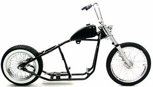rigid hardtail springer bobber chopper rolling chassis frame harley kit roller fits more