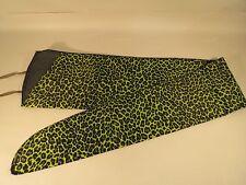 Long Gun Rifle Sleeve Sock Durable Lightweight Case Cover Green Leopard