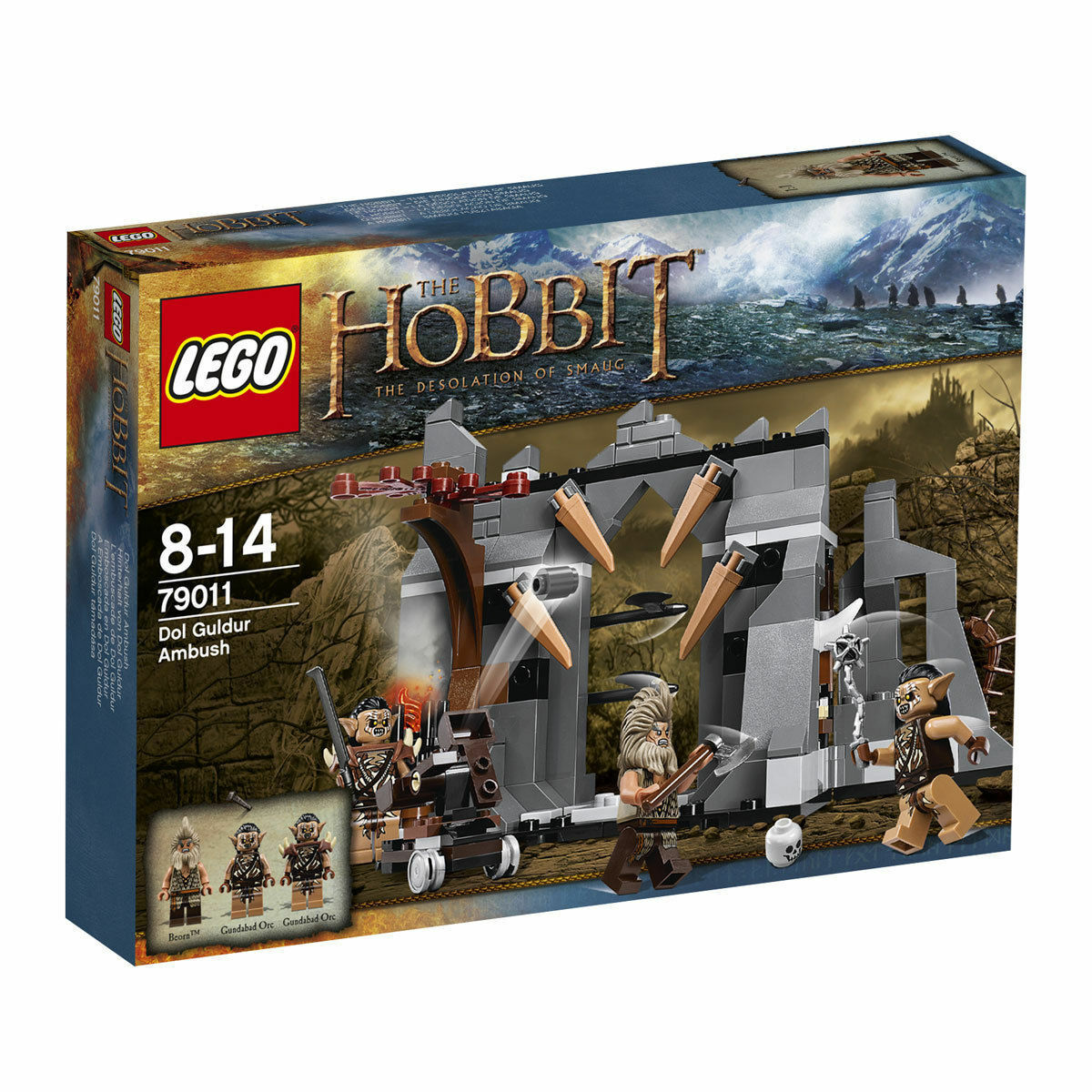 LEGO 79011 The Hobbit Dol Guldur Ambush