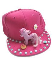 CUTE PONY FLAT CAP HAT PINK DECODEN DECO KAWAII COSPLAY KERA DIY