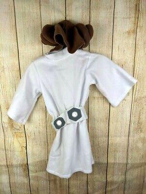 Rubies Star Wars Princess Leia Costume Infant 6 12 Mos Dress Belt