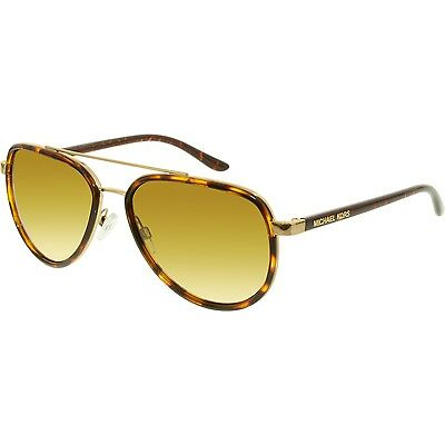 Michael Kors Women's Gradient Playa Norte MK5006-10342L-57 Tortoiseshell Aviator