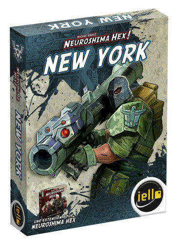 Neuroshima Hex 3.0 Board Game - New York Expansion