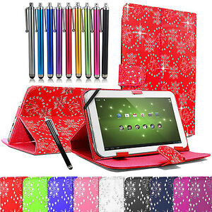 Amazon-Kindle-Leather-Diamond-Bling-Stand-Case-Cover-For-All-7-034-Inch-Tablets