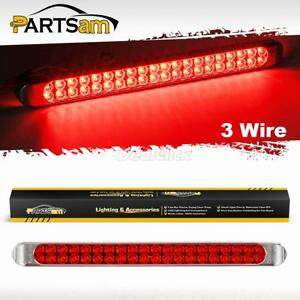 17-034-High-Power-40LED-Red-Trailer-Truck-RV-Stop-Tail-Rear-Brake-Turn-ID-Light-Bar