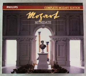 Classical-CD-Box-Set-Mozart-Mitridate-Complete-Mozart-Edition-Philips