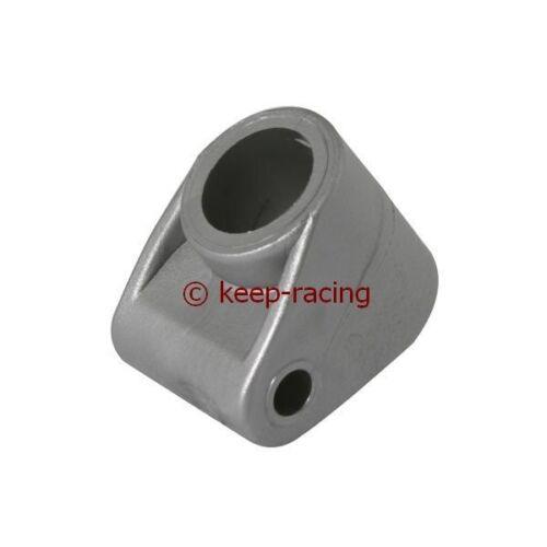 20x8mm Halter Lenkung Lenkstange Kart Lenksäulenhalter für Lenksäule silber