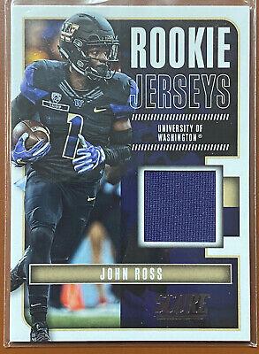 2017 Score Rookie Jerseys John Ross Patch RC Football Card TCCCX   eBay