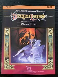 TSR 9231 AD/&D: DL15 Mists Of Krynn PBR DragonLance