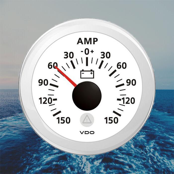VDO Viewline Ammeter Amperemeter Anzeige 52mm 2
