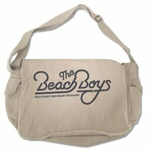 Details About Beach Boys Made Radio Natural Heavy Duty Messenger Bag New Official