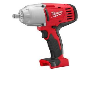 """Milwaukee 2663-20 M18 1/2"""" High Torque Impact Wrench w/Friction Ring (Bare Tool)"""