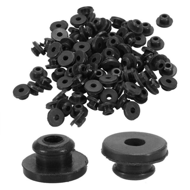 100PCs Colorful Rubber Grommets Nipples For Tattoo Machine Needles Supplies s: