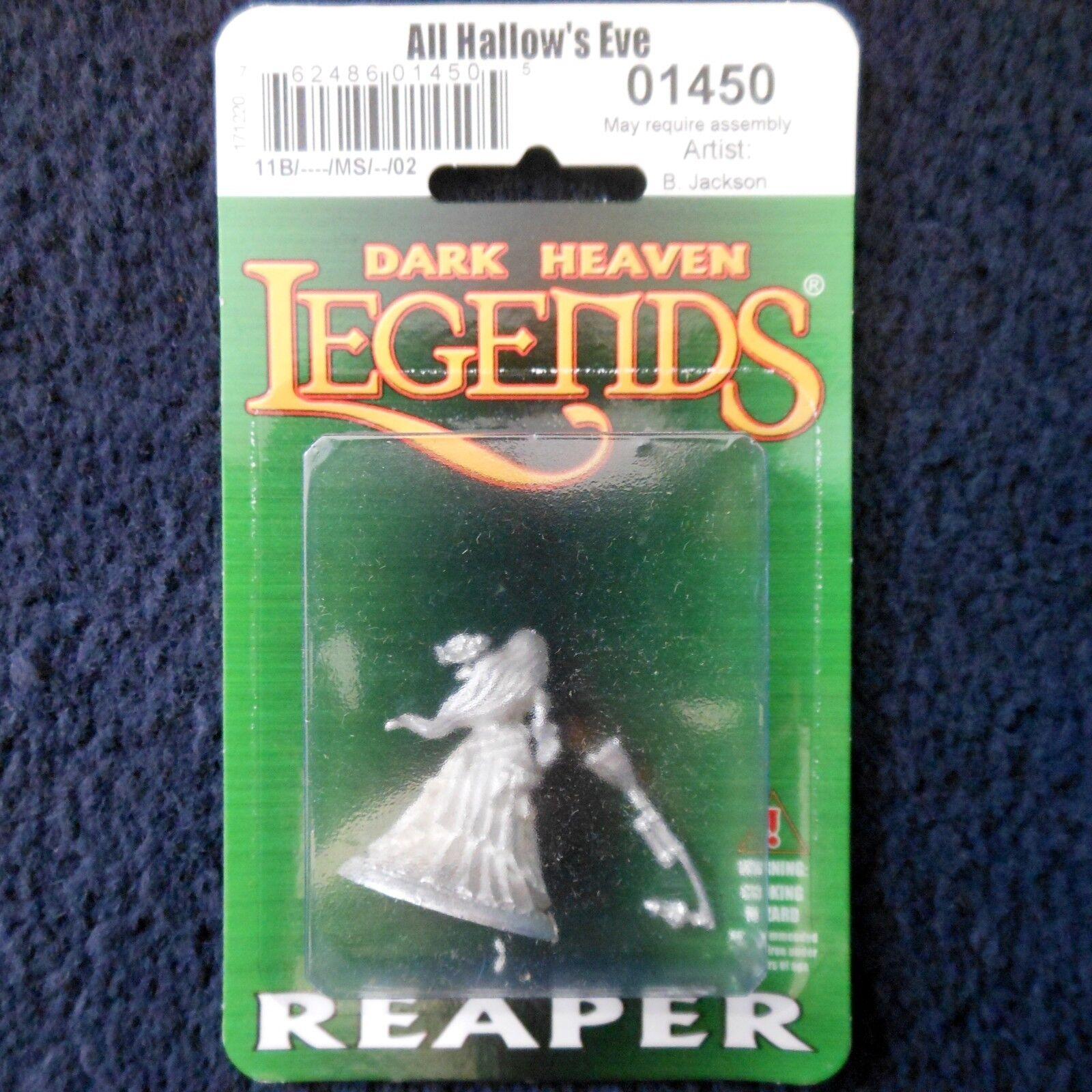 Reaper Dark Dark Dark Heaven Legends 01450 All Hallow's Eve Witch Female Sorceress Druid c331ec