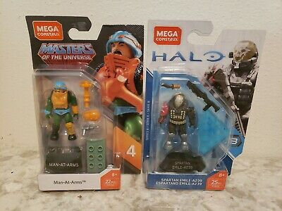 """MEGA Construx Masters Of The Universe Small Action Figurine Toy /""""Man-At-Arms/"""""""