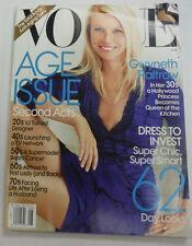 Vogue Magazine Gwyneth Paltrow Dress To Invest August 2010 NO ML 070315R