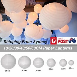 10pcs-10-20-30-40-50-60cm-White-Paper-Lantern-lanterns-Party-Wedding-Banquet-Dec