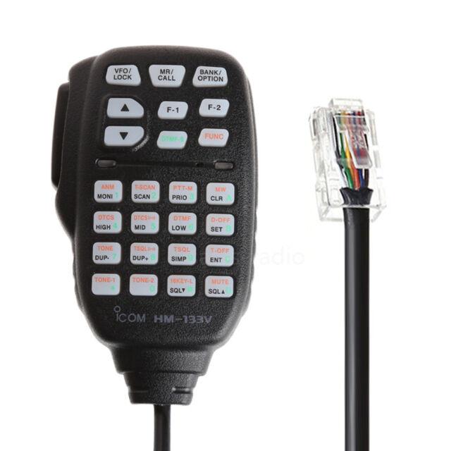HM-133V DTMF 8PIN Microphone For ICOM ID-800H ID-880H IC-2800H IC-2820H IC-V8000