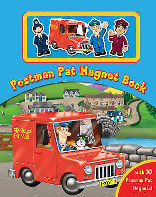 Postman Pat Magnet Book by , Acceptable Book (Hardcover) Fast & FREE Delivery!