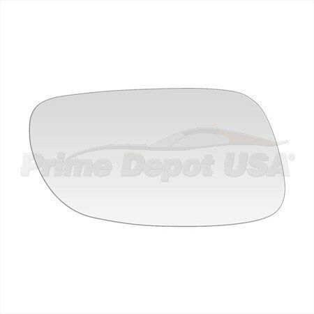 BRAND NEW MIRROR-GLASS~Saturn  LEFT DRIVER SIDE~DIRECT FIT~CABLE ADJUSTMENT