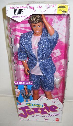 Nunca quitado de la Caja Vintage Mattel High School dude Novio De Muñeca Jazzie