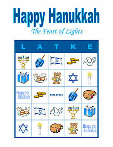 image is loading happy hanukkah bingo party holiday activity game personalized