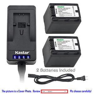 Kastar-Battery-LED-Super-Fast-Charger-for-Panasonic-VW-VBK360-amp-SDR-T50-SDR-T50K