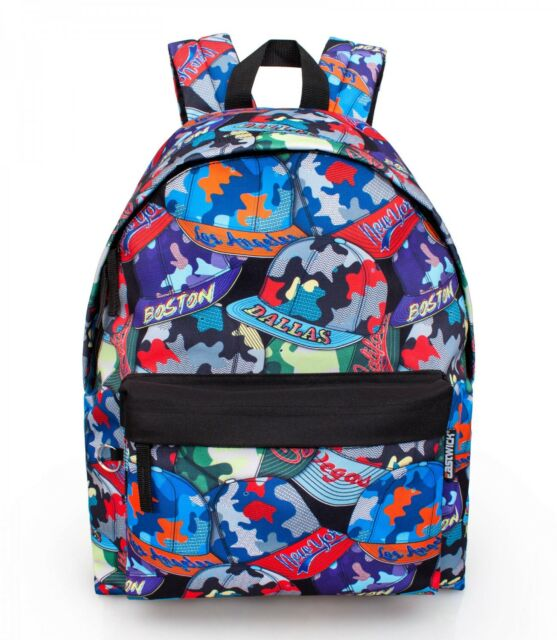 Eastwick Caps Graffiti Girl Boys Backpack Rucksack Travel Work ... 34b993864c