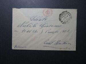 ITALIE-1944-censure-Housse-pour-POW-Camp-in-UK-Z11363