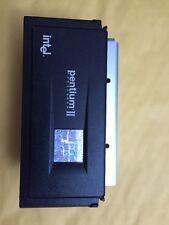 Intel Pentium II 350MHz MMX 80523PY350512PE SL2U3 Slot1 with heatsink