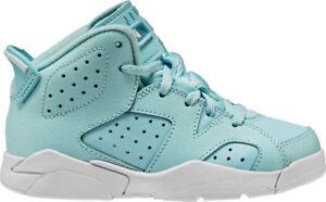 0fa8e3936a7c9a Nike Preschool Jordan 6 Retro (PS) NEW AUTHENTIC Still Blue White ...
