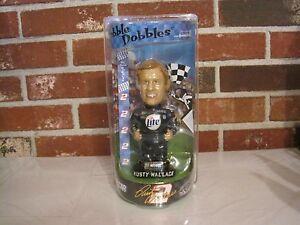 NASCAR-2-RUSTY-WALLACE-BOBBLE-DOBBLES-NEW-FACTORY-SEALED