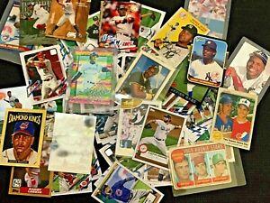 100 baseball Cards Rookies, vintage, 1950's-2021 Griffey, Tatis, Ohtani, Alonso