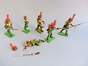 Soldats-de-plomb-Little-Legion-Waterloo-chasseurs-de-la-garde-Lead-soldier