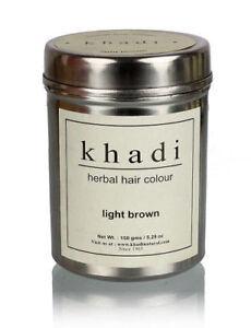 Khadi-Natural-Herbal-Light-Brown-Henna-Hair-Color-Natural-Product-150-gm