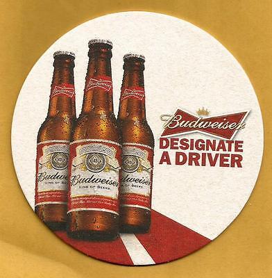16 Budweiser Designate A Driver  Beer Coasters