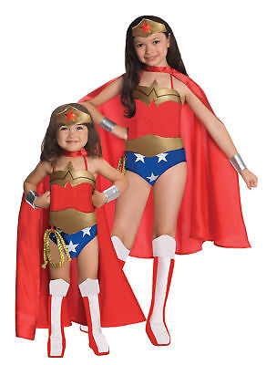 Wonder Woman Deluxe Child Costume Marvel Superhero Heroine Theme Party Halloween