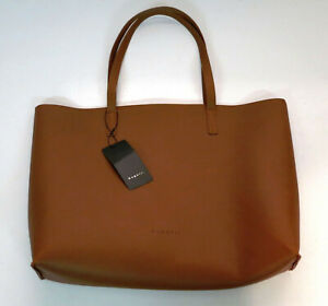NWT, Bugatti Cognac Vegan Leather Tote Bag - Style# TTE2289BU