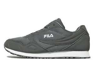 Herren-Fila-Euro-jog4-Sneaker-Schuhe-Grau-Groesse-7-12-UK-UVP-45-SALE
