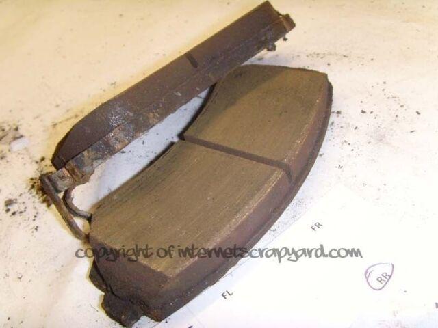 Nissan Patrol Y61 3.0 97-13 GR ZD30 OSR rear brake pads for standard brakes